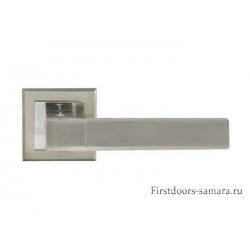 Дверные ручки Bussare А-67-30 SN/CP Stricto