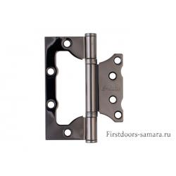 Петля неврезная S-Locked B 100*75*2,5 2ВВ BH черный никель (100)