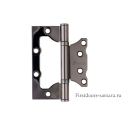 Петля неврезная S-Locked LL 100*75*2,5 2ВВ BH черный никель (100)