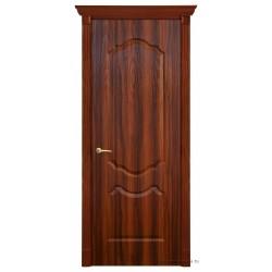 Межкомнатная дверь ДГ Канадка темный орех