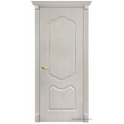Межкомнатная дверь ДГ Канадка беленый дуб
