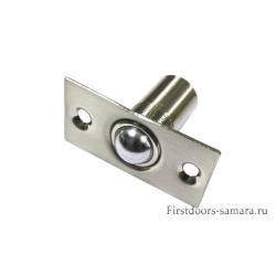 Фиксатор дверной Шариковый нерж 105 ф17мм 2 шт/блистер(80/320)