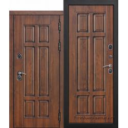 Стальная морозостойкая дверь c ТЕРМОРАЗРЫВОМ 13 см Isoterma МДФ/МДФ Грецкий орех