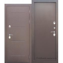 Стальная дверь c ТЕРМОРАЗРЫВОМ 11 см ISOTERMA Медный антик Металл/Металл