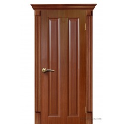 Межкомнатная дверь ДГ Екатерина 2 дуб темный