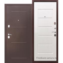 Стальная дверь Гарда Белый ясень 7,5 см