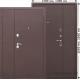 Стальная дверь GARDA Металл/Металл 1200мм, 1300мм
