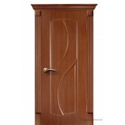 Межкомнатная дверь ДГ Фаина дуб темный