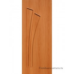 Межкомнатная дверь ДГ Дуэт Миланский орех