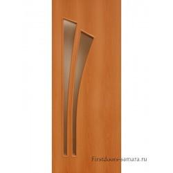 Межкомнатная дверь ДО Дуэт Миланский орех