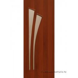 Межкомнатная дверь ДО Дуэт Итальянский орех