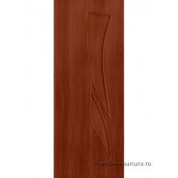 Межкомнатная дверь ДГ Стрелиция Итальянский орех