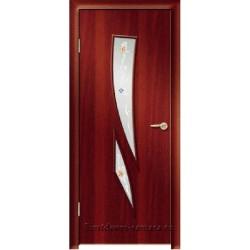 Межкомнатная дверь ДО Стрелиция Итальянский орех