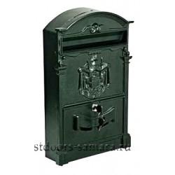 Ящик почтовый Форпост К-31091Ф антик зеленый