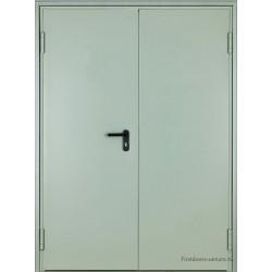 Дверь противопожарная двупольная EI60