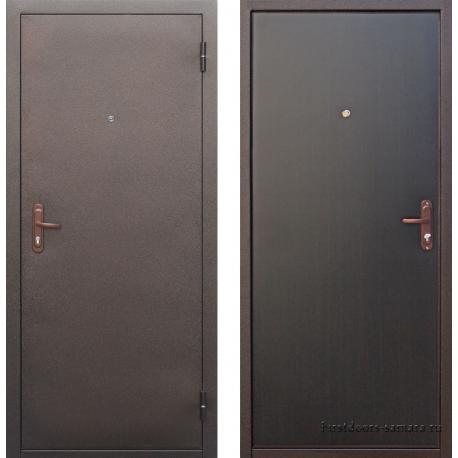 Стальная дверь Строй гост 7-1 венге