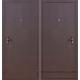 Стальная дверь Строй гост 5-1 металл-металл