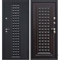 Стальная дверь Контур венге, Дверной Континент