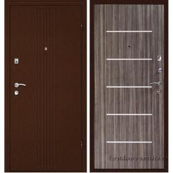 Стальная дверь синергия дуб санома, Дверной Континент