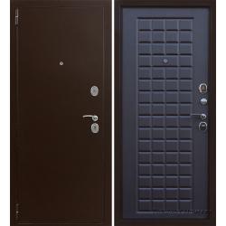 Стальная дверь Тайгер Сотка (медь/венге тисненый)