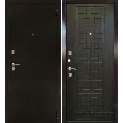 Стальная дверь Тайгер Оптима 2 (антик медный/венге тисненый)