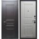 Стальная дверь Тайгер Бастион (орех рифлёный/сандал белый)