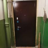 See in Instagram:Монтаж стальной двери Тайгер Сотка снадал беленый